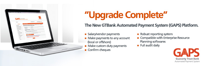 GTBank Automated Payment System